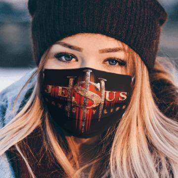 Jesus SuperHero Saved my life mask