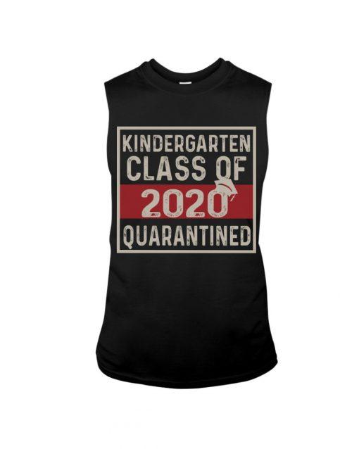 Kindergarten class of 2020 quarantined tank top