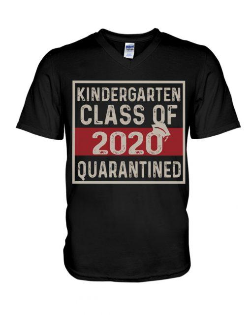 Kindergarten class of 2020 quarantined v-neck