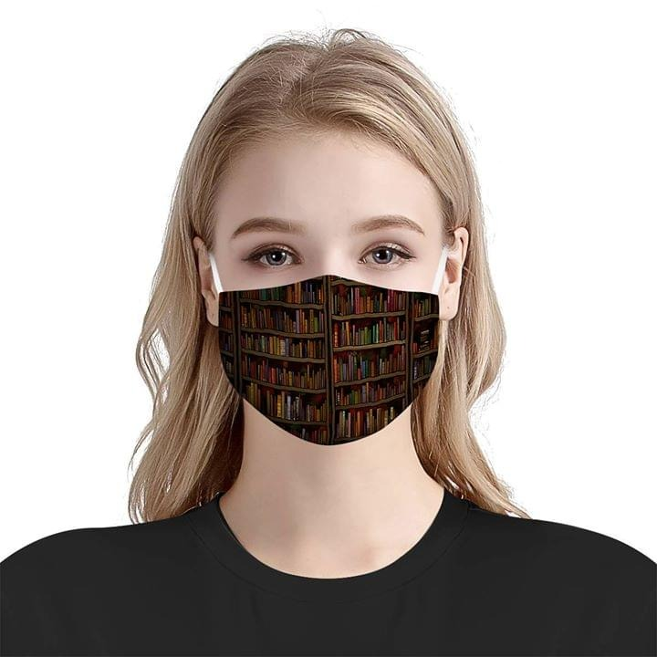 Librarian Books Cloth face mask