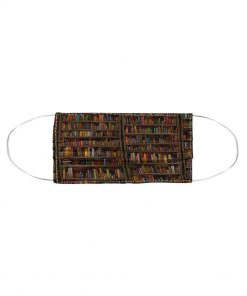 Librarian Books Cloth face mask2