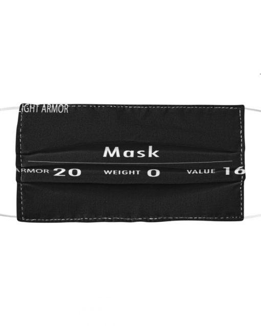 Light armor weight value mask1