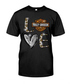 Love Motor Harley Davidson cycles shirt