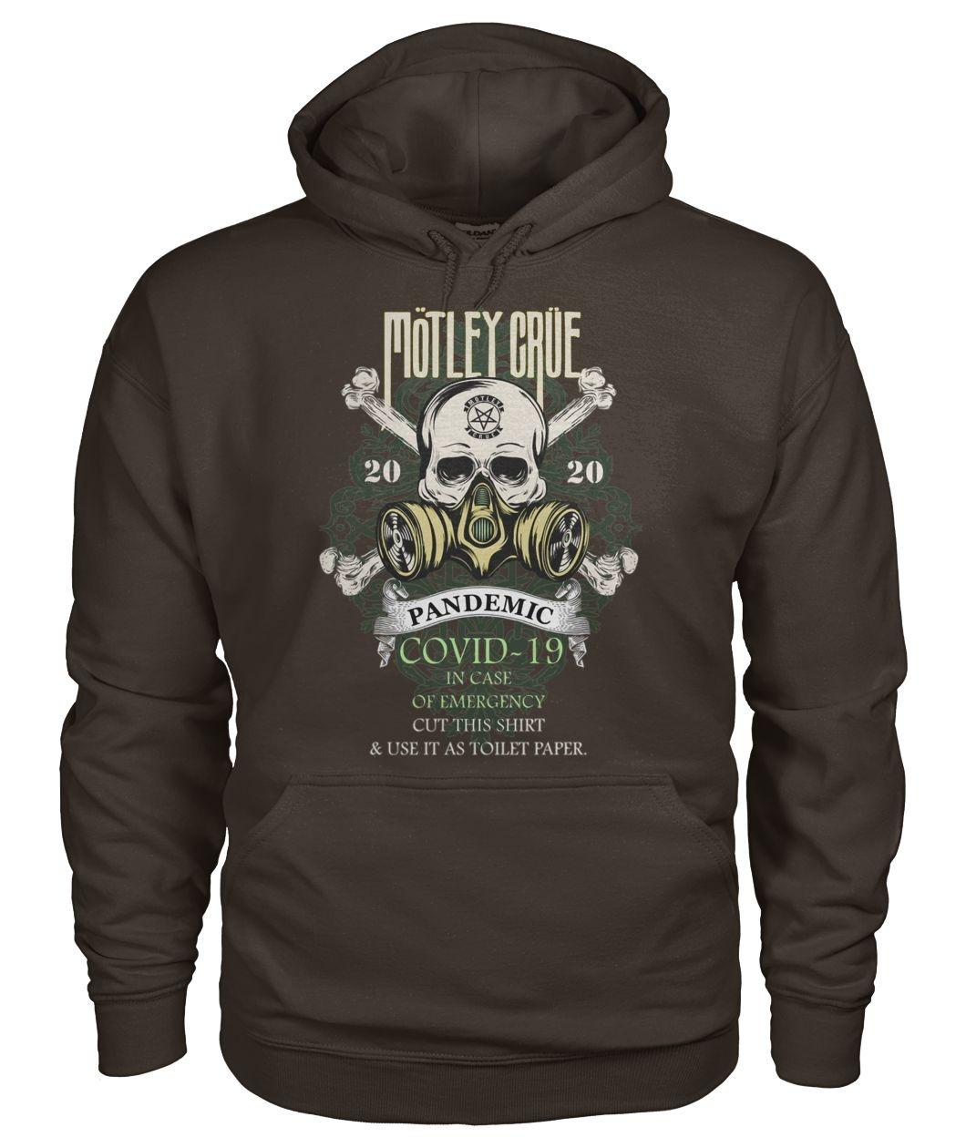 Mötley Crüe 2020 Covid-19 Pandemic Skull Hoodie