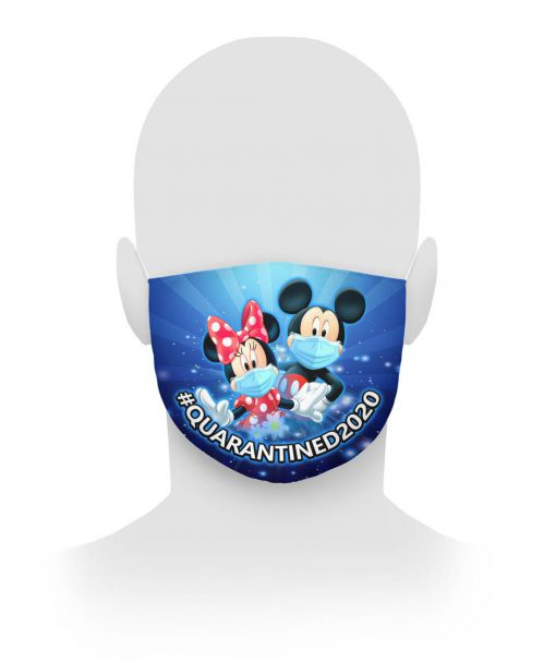 Mickey Mouse & Minnie Mouse cloth mask