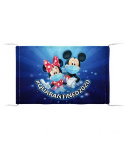 Mickey Mouse & Minnie Mouse cloth mask1