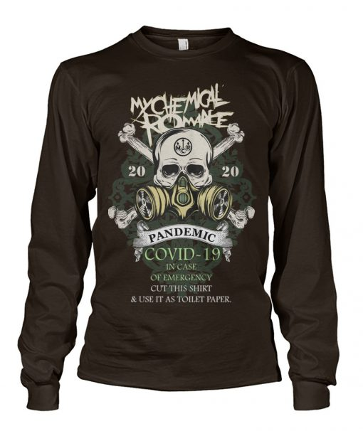 My Chemical Romance 2020 Covid-19 Pandemic Skull Long sleeve