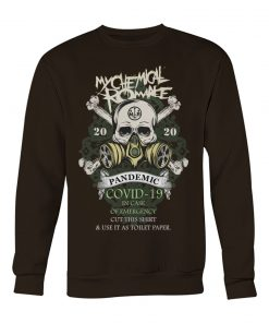 My Chemical Romance 2020 Covid-19 Pandemic Skull sweatshirt