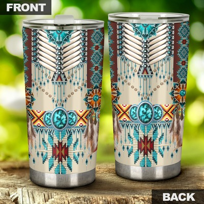 Native American Pattern Tumbler2