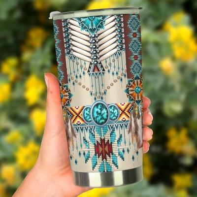 Native American Pattern Tumbler3