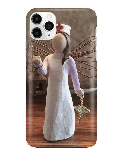 Nurse Angel Figurine phone case11