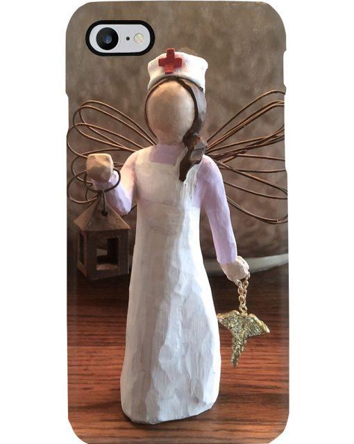 Nurse Angel Figurine phone case7