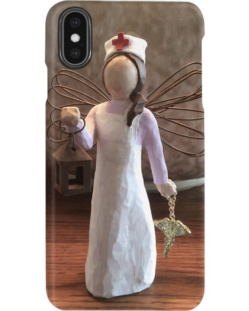 Nurse Angel Figurine phone casexs