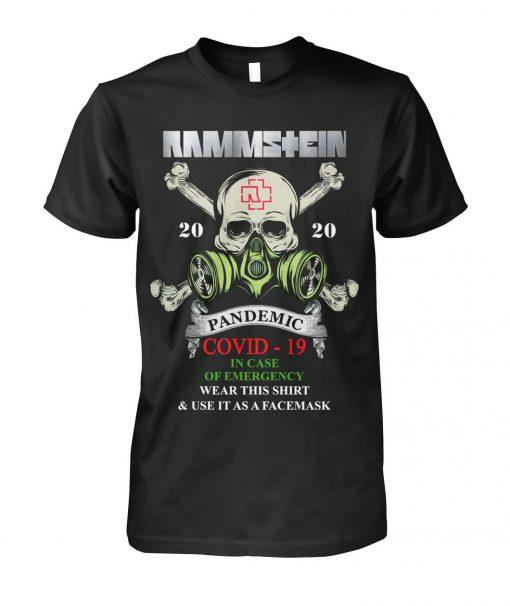 Rammstein Covid-19 Pandemic Skull shirt