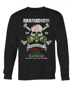 Rammstein Covid-19 Pandemic Skull sweatshirt