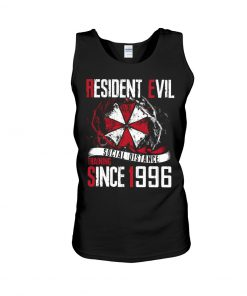 Resident Evil Social Distance Training Since 1996 tank top