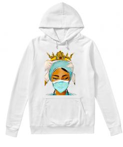 Respect to Nurses Queen hoodie