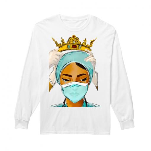 Respect to Nurses Queen long sleeved
