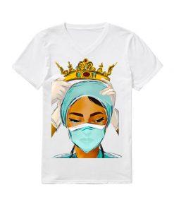 Respect to Nurses Queen v-neck