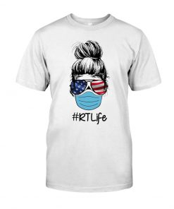 Respiratory Therapist RT Life Covid-19 T-shirt