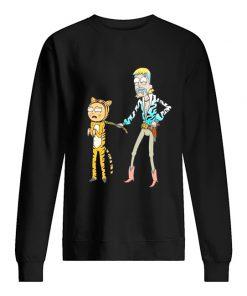 Rick and Morty Tiger King Sweatshirt