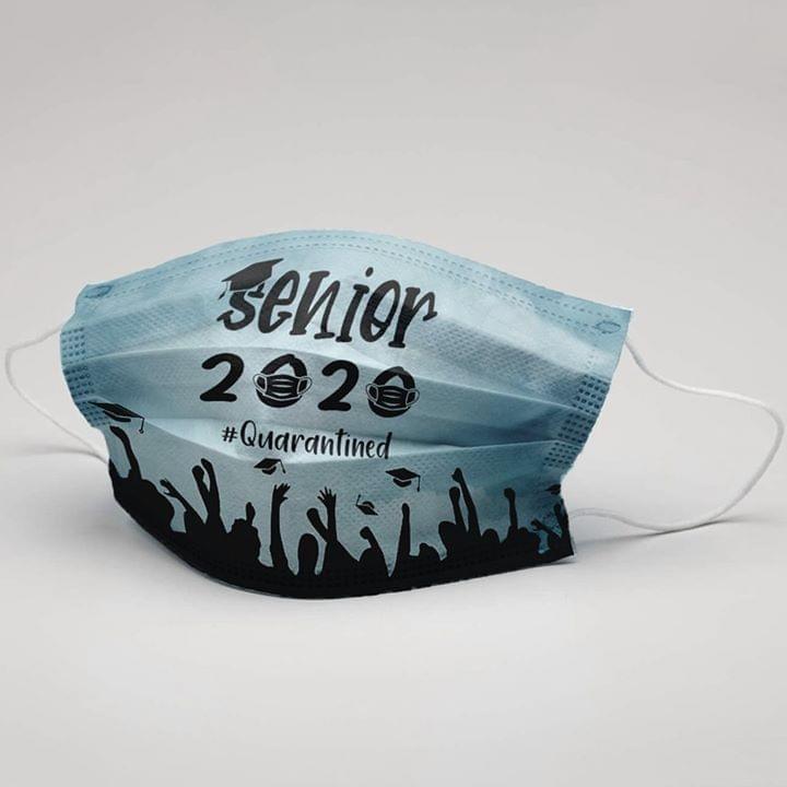 Senior 2020 quarantined face mask