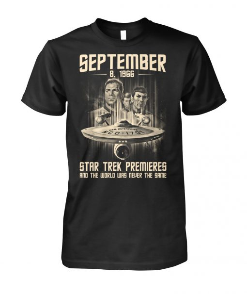 September 1996 Star Trek Premieres T-shirt
