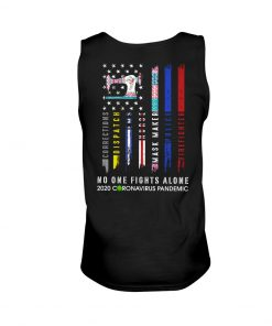 Sewing No one fights alone 2020 coronavirus pandemic tank top
