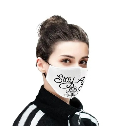 Stay Away Post Malone cloth face mask2