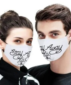 Stay Away Post Malone cloth face mask4