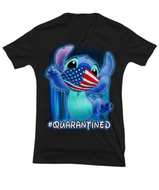 Stitch - Quarantined V-neck