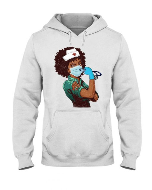 Strong Black nurses We can do it hoodie