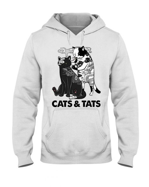 Tattoos Cats And Tats hoodie