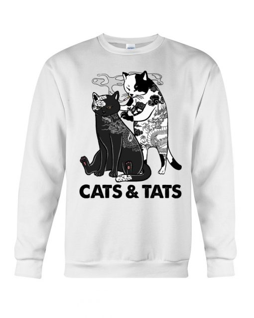 Tattoos Cats And Tats sweatshirt