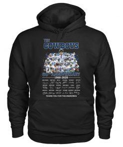 The Cowboys 60th Anniversary 1960-2020 Hoodie