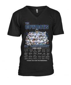 The Cowboys 60th Anniversary 1960-2020 V-neck