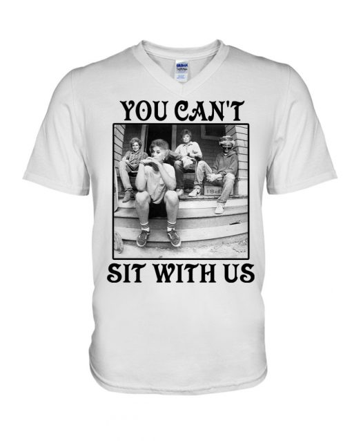 The Golden Girls You can't sit with us v-neck