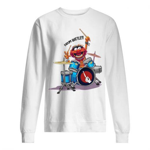The Muppets Drummer Drum Battle Sweatshirt