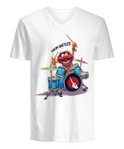 The Muppets Drummer Drum Battle V-neck