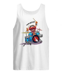 The Muppets Drummer Drum Battle tank top