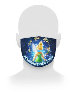 Tinker Bell Quarantined 2020 cloth mask 1
