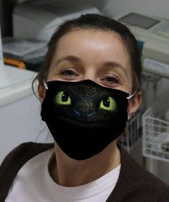 Toothless How to Train Your 3D face cloth mask 0