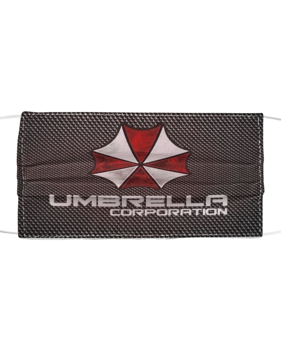Luxury Umbrella Corporation Logo cloth face mask