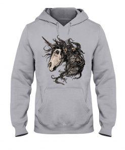 Unicorn Skull Hoodie