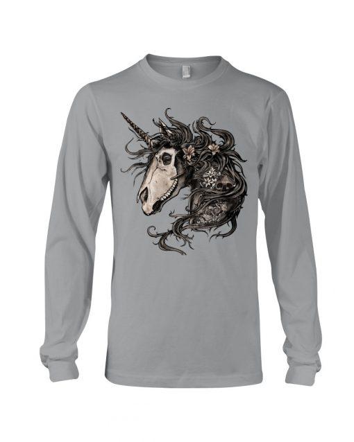 Unicorn Skull Long sleeve