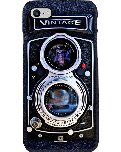 Vintage Rolleiflex Synchro-Compur Franke Heidecke Braunschweig phoner case 7