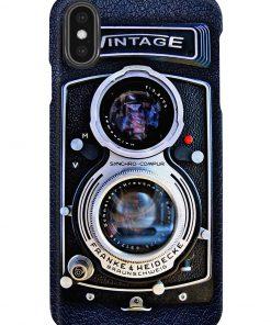 Vintage Rolleiflex Synchro-Compur Franke Heidecke Braunschweig phoner case x