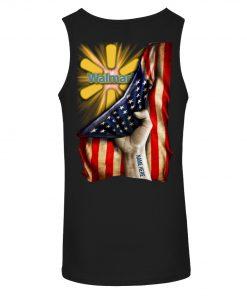 Walmart Proud American Flag personalized tank top
