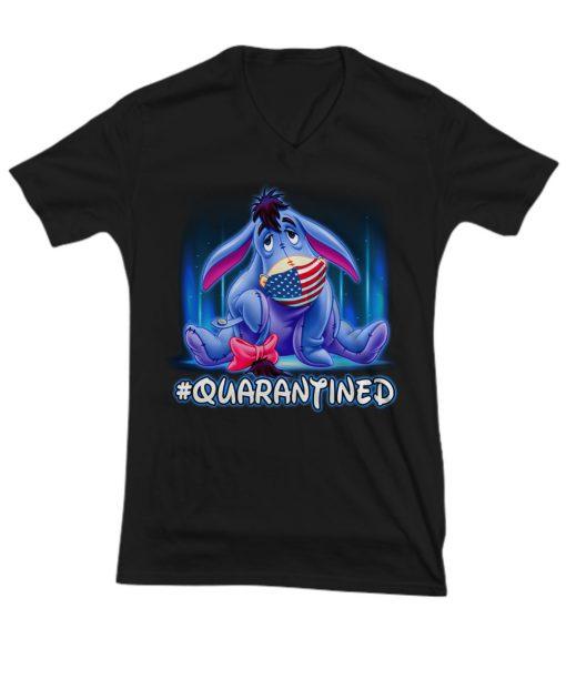 Eeyore - Quarantined v-neck