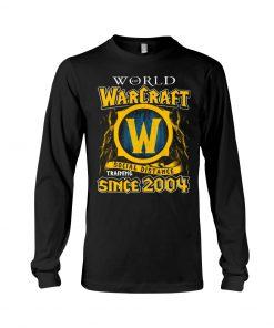World Warcraft Social Distance Training Since 2004 Long sleeve